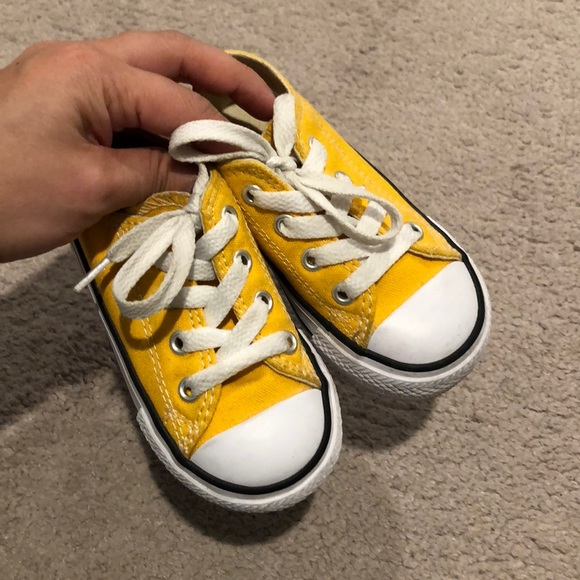 00d5ee820277 Converse Other - 🆕 Converse Yellow Chuck Taylor Toddler 6
